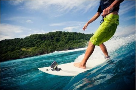 サーフィン撮影 アクションカメラ