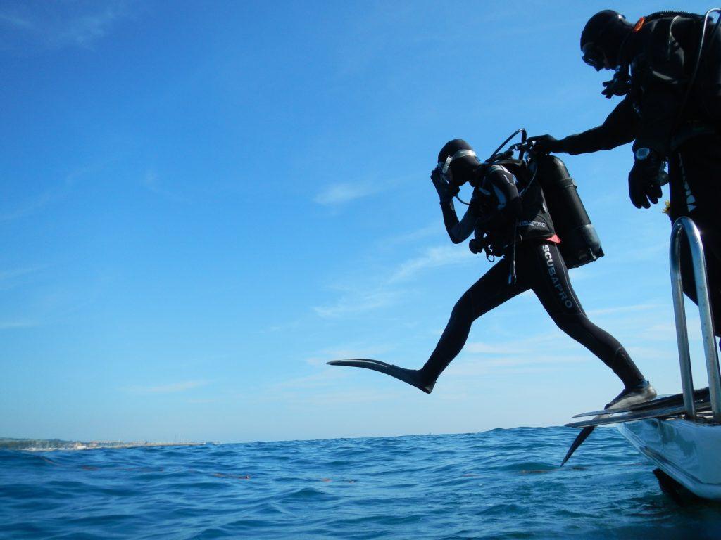 ダイビングらいs年すの取得方法