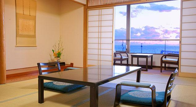鎌倉・湘南の海が臨めるオーシャンビューのお宿 和風リゾートホテル KKR鎌倉わかみや
