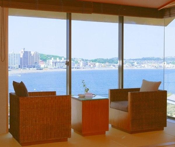 鎌倉・湘南の海が臨めるオーシャンビューのお宿 湘南江の島 御料理旅館 恵比寿屋