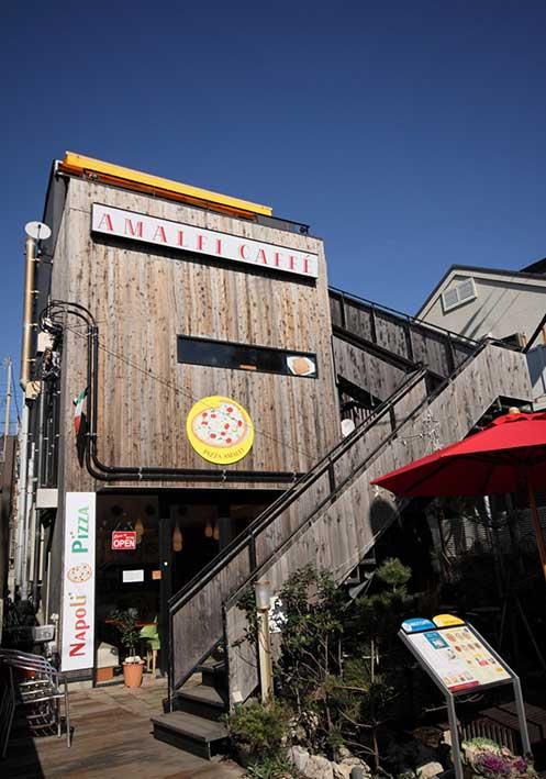鎌倉・湘南で海が見えるオーシャンビューレストラン・カフェ8選 アマルフィイカフェ【七里ヶ浜】