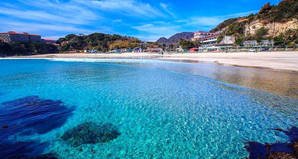日本のベストビーチ 多々戸浜海水浴場
