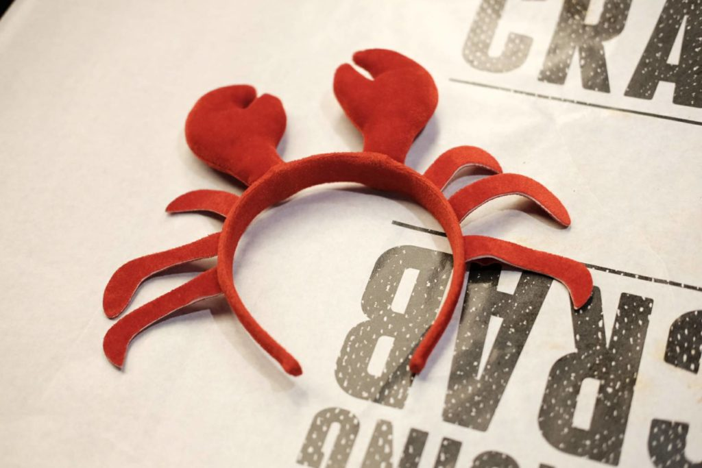 Dancing Crab(ダンシング・クラブ)蟹のカチューシャ