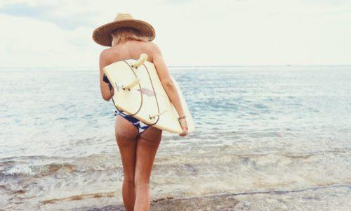 痩せたいなら波の乗れ!サーフィンの消費カロリーが凄い!?