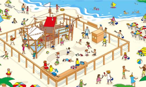 江ノ島に子供の楽園!?江の島片瀬東浜に新しい遊び場が誕生!!