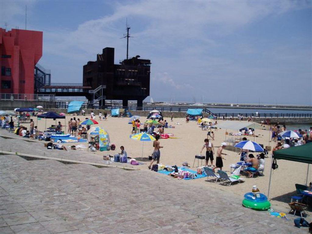淡輪海水浴場(ときめきビーチ)