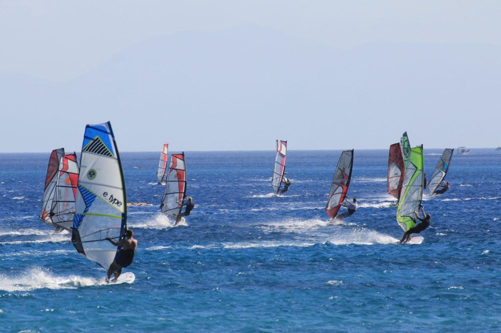 ウインドサーフィン レース